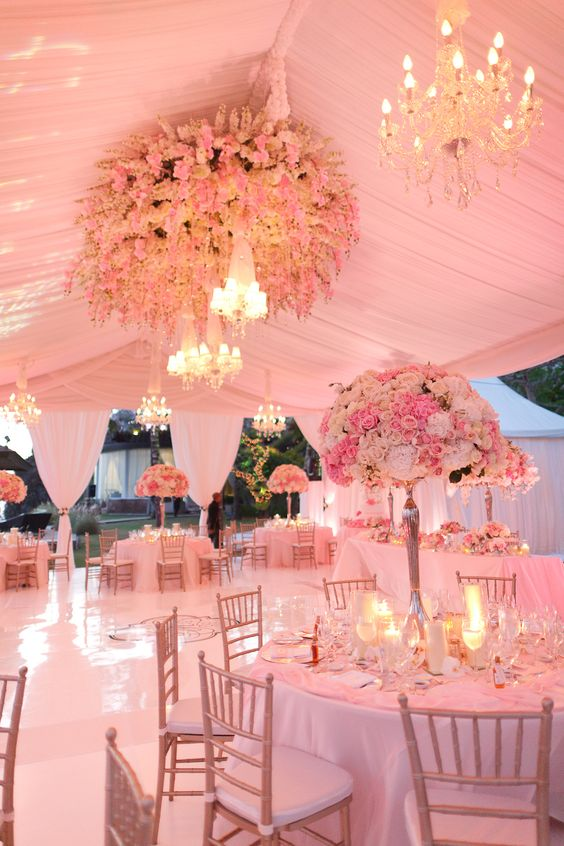 Inspirational Flower Decor Ideas for Reception