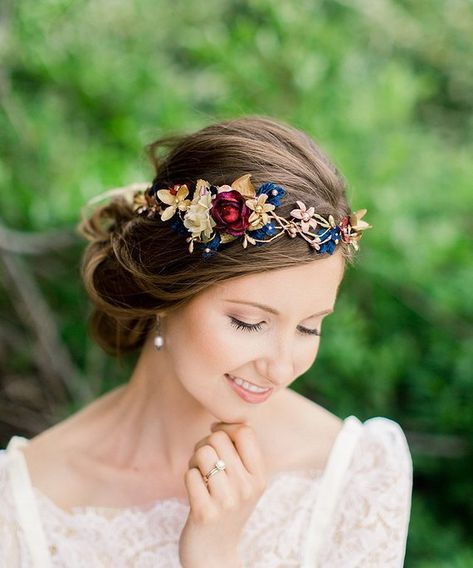 Girly brides style headpieces