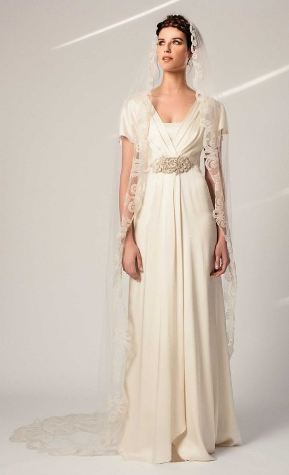 Temperley London's Chrys dress with veil