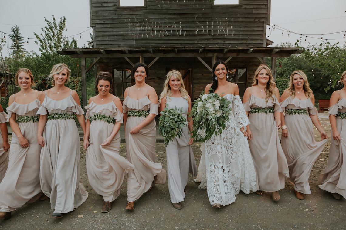 Melani's bridesmaids