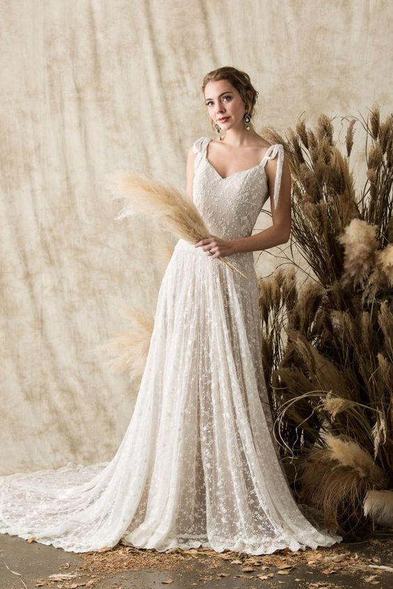 Evangeline wedding gown