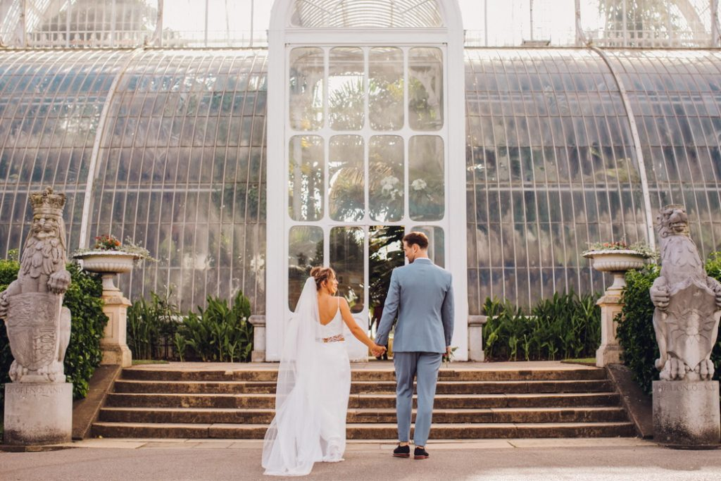 Leslie and Richard's Elegant Wedding at the Royal Botanic Gardens in Kew