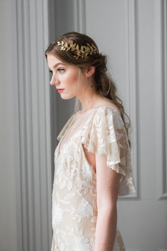 Greek Goddess style headpiece