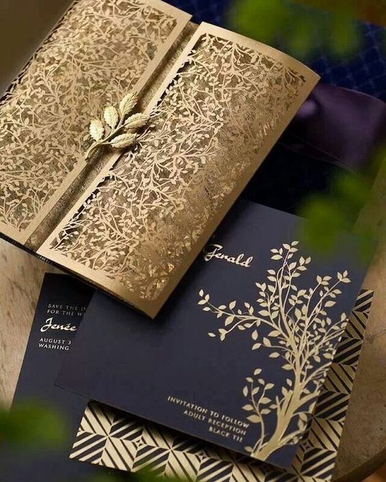 rustic envelope design by ceci newyork
