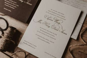 5 of the Best Elegant Wedding Invitations