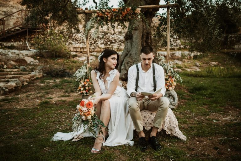 chic country elopement