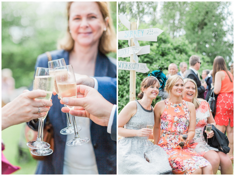 Hanna and Jannes's gorgeous rustic style wedding reception