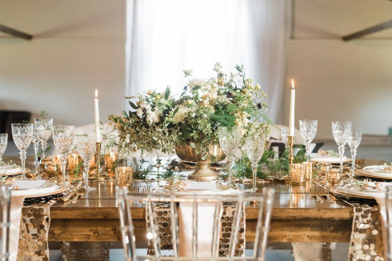 Glamorous Stylish Rustic Country Wedding Inspiration